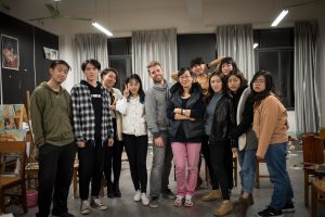 Jarred Elrod, Guangxi Arts Institute, visiting professor