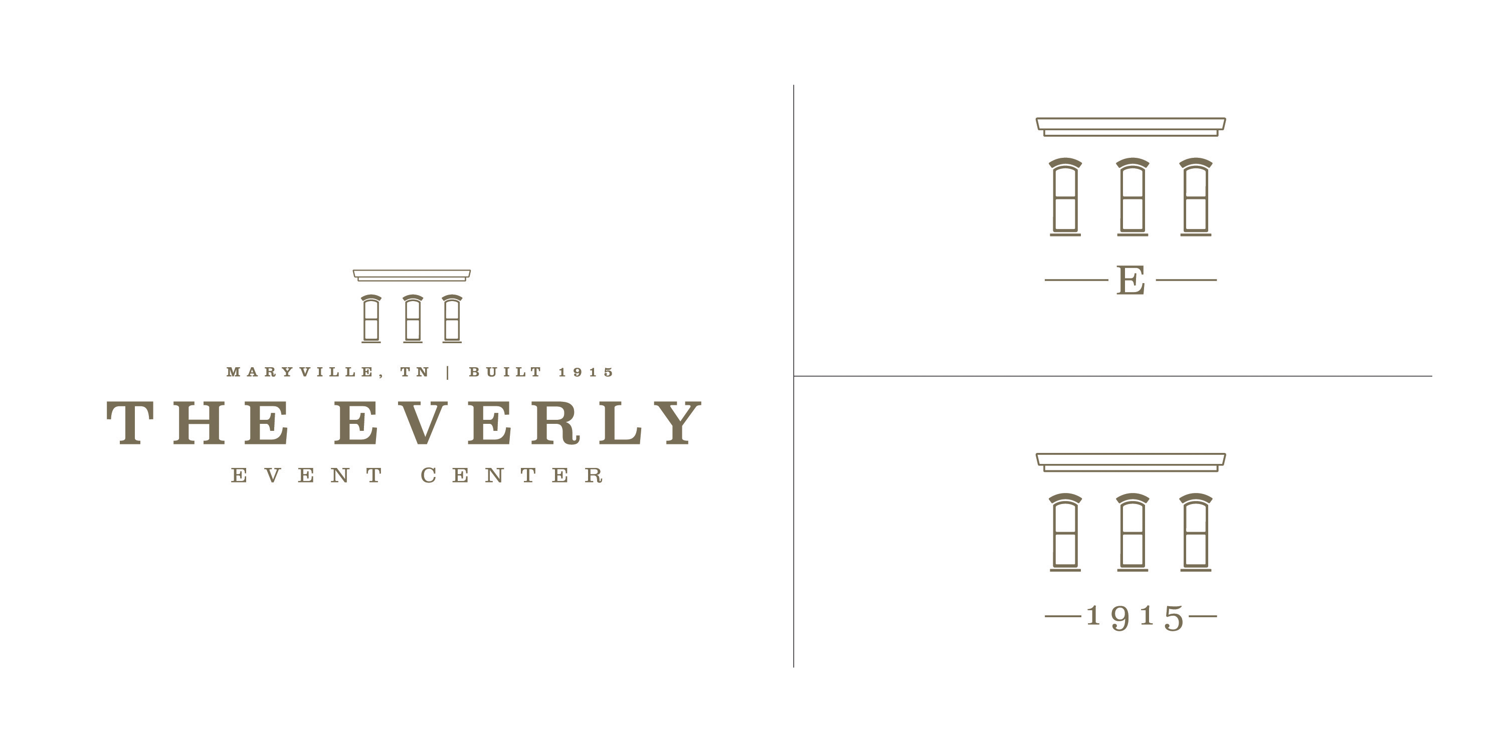 The Everly Identity Design, Jarred Elrod