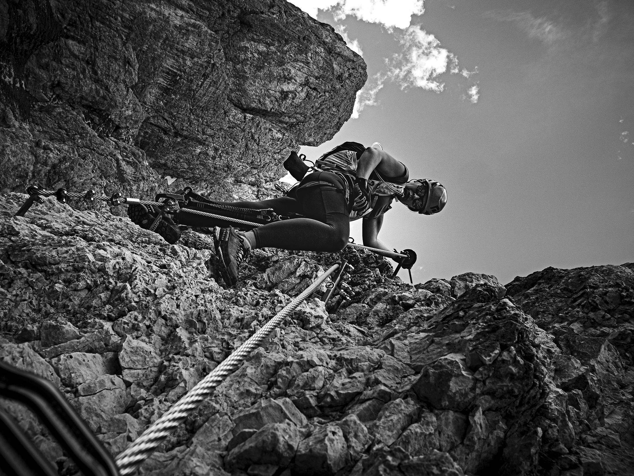 Via Ferrata, Cortina, Italy, Jarred Elrod, Photography