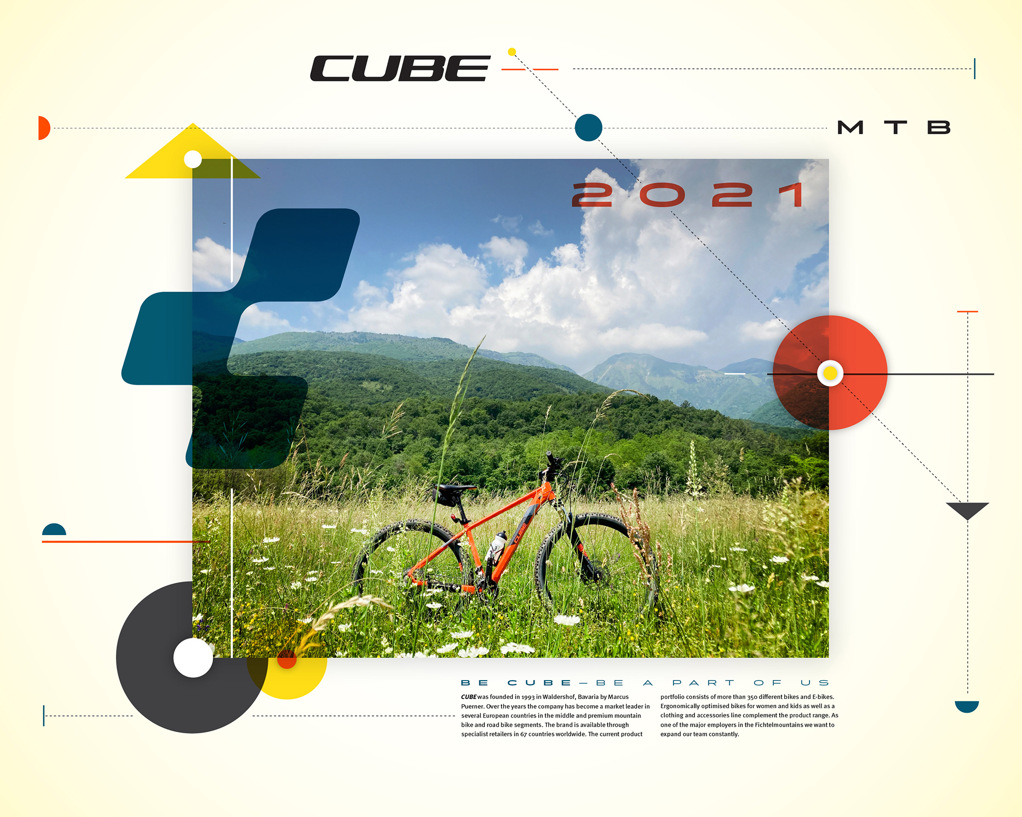 Cube Bikes, Italy, Jarred Elrod, Graphic Design, Photography