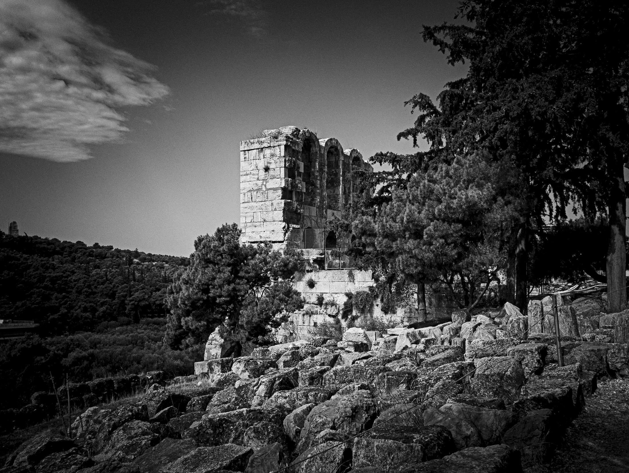 Acropolis ruins, Greece
