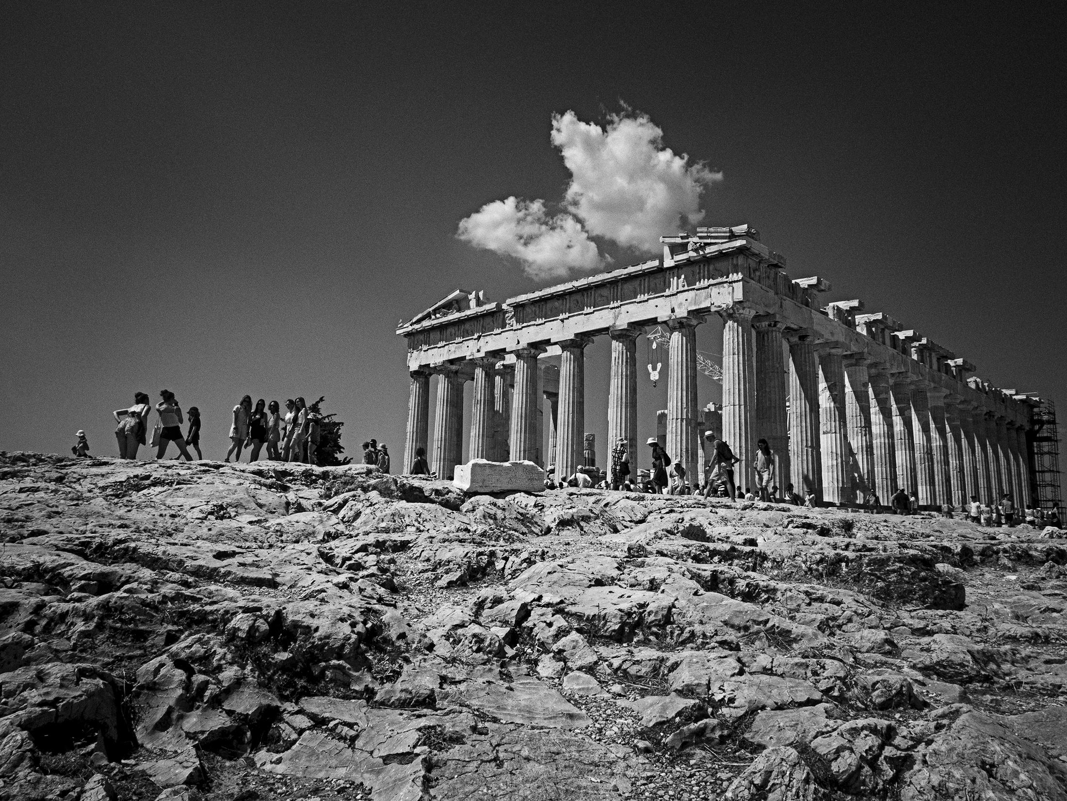 Acropolis ruins, Greece, Parthenon