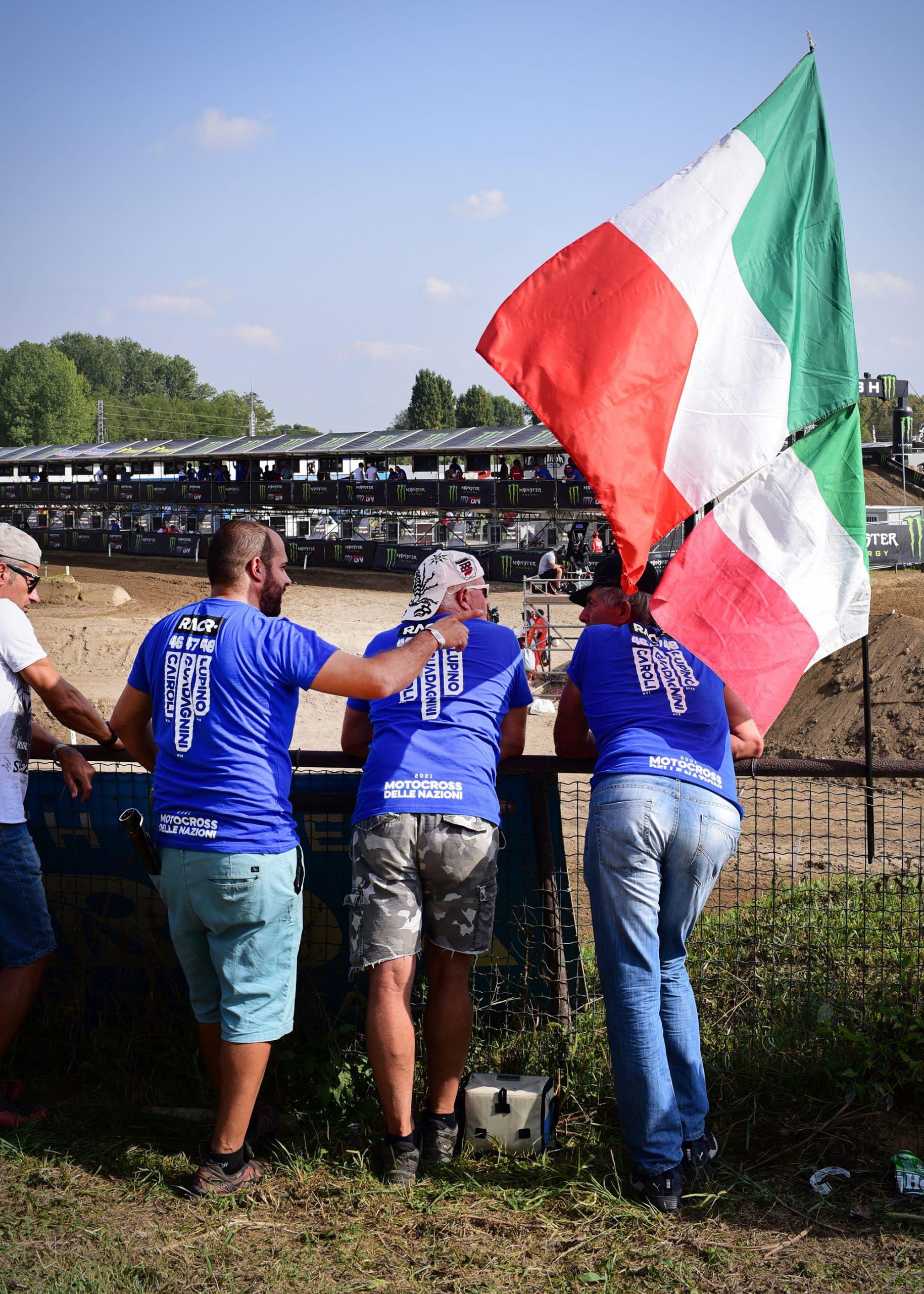 Italian Moto Fans at Mantova
