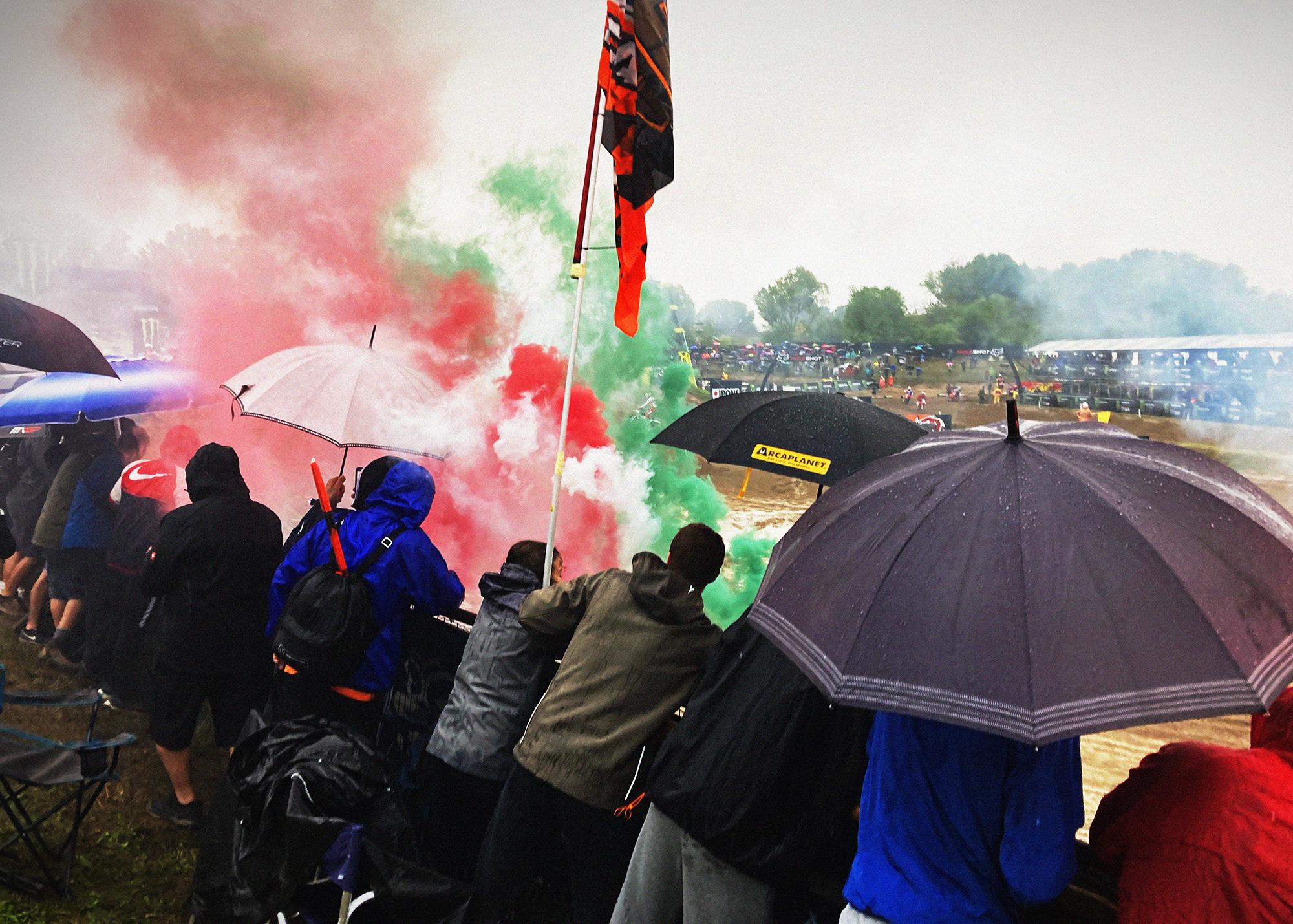 Italian Fans Motocross of Nations 2021