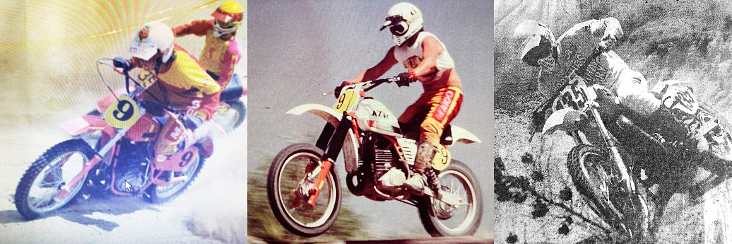 Todd Elrod racing motocross in the late 70s and 80s
